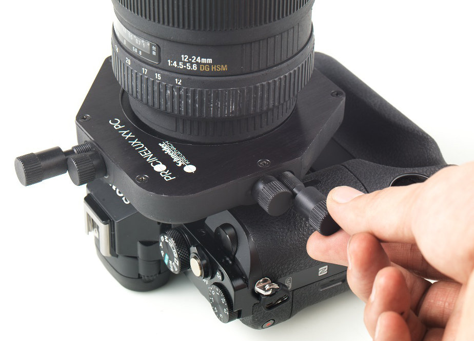 New Concepts X Y Shift Adapter For Sony A7 R